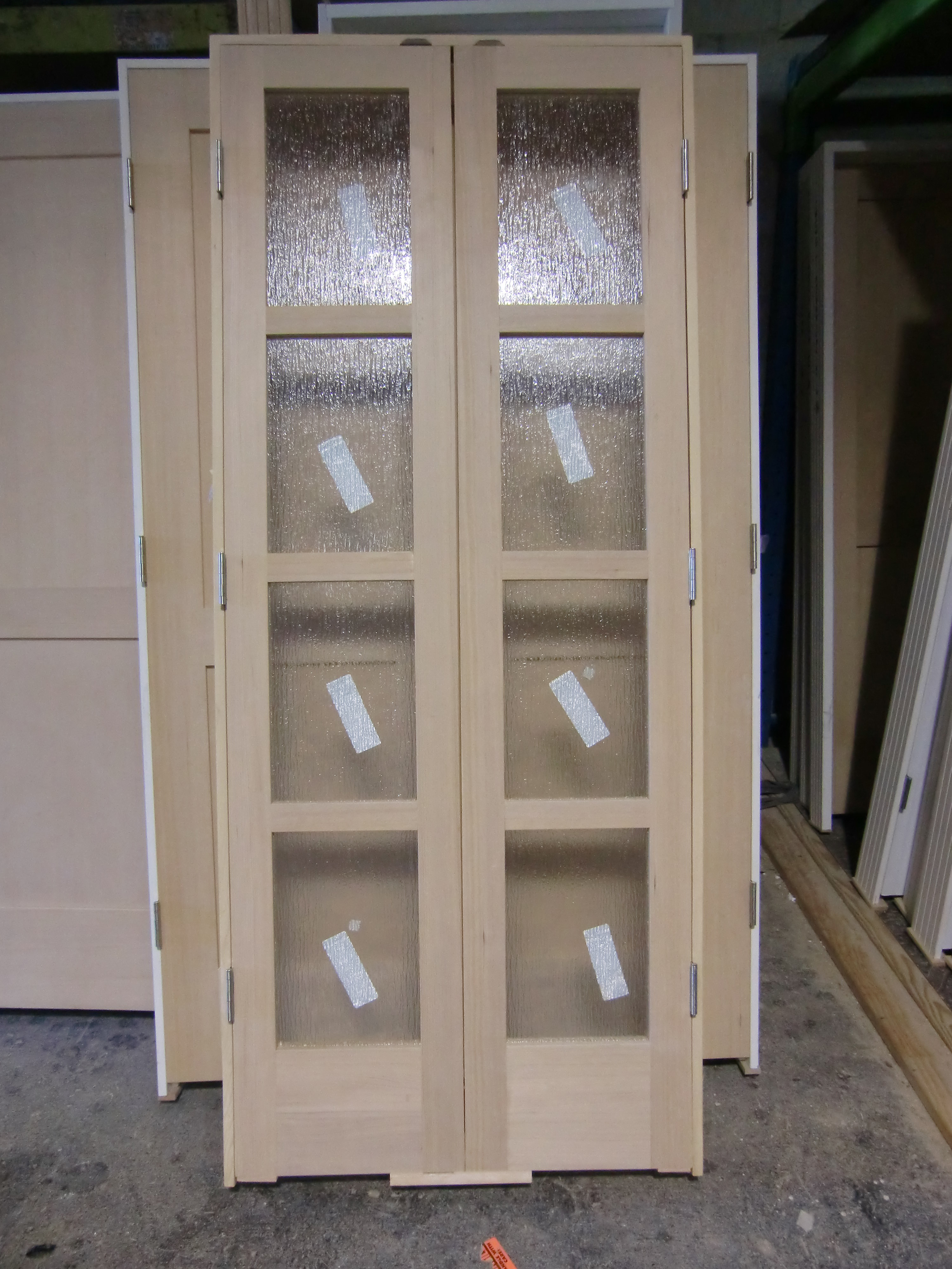 Interior french bifold doors for Folding french doors