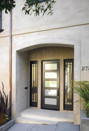 Door Express Seattle Product Details Exterior  Lite Stain - Shaker front door